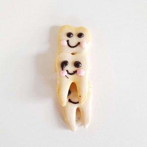 Bolachas Em Forma De Dentes Para Crianças