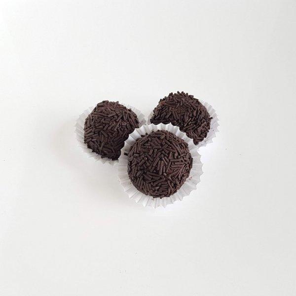 Brigadeiros De Chocolate De Leite