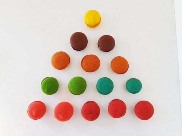 Macarons Diversos Coloridos E Vários Sabores.jpg