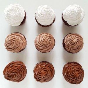 Sortido De Sabores De Cupcakes