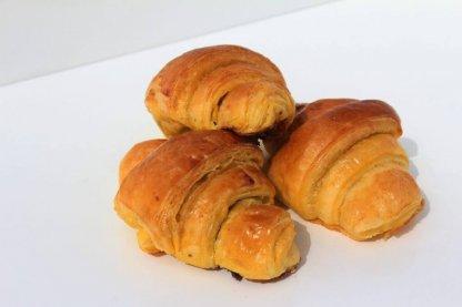 Mini Croissants De Chocolate Vista Em Perspetiva Min.jpg