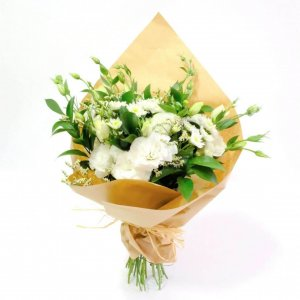 Bouquet De Flores Mistas Brancas Lisboa