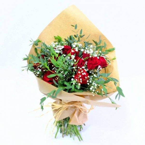 Bouquet Vermelho De Rosas Lisboa Cascais