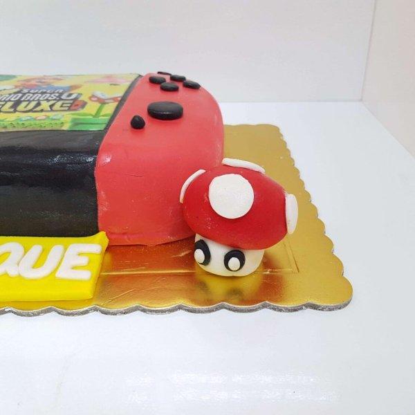 Bolo Da Nintendo Switch Com Jogo Mario Bros