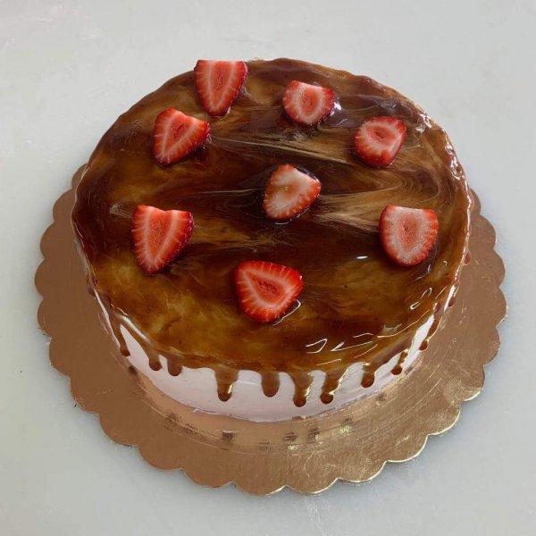 Drip Cake De Caramelo