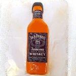Bolo Em Forma De Garrafa De Whiskey Jack Daniel's