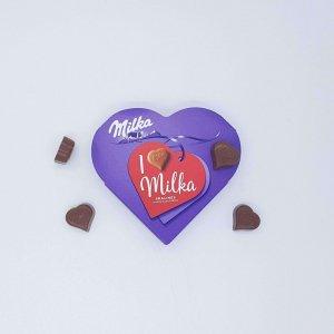 Chocolate Em Coração Milka