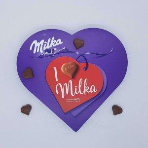 Corações Milka