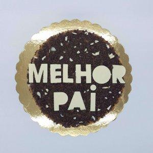 Naked Cake De Chocolate Para O Melhor Pai