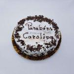 Naked Cake Redondo Com Raspas De Chocolate
