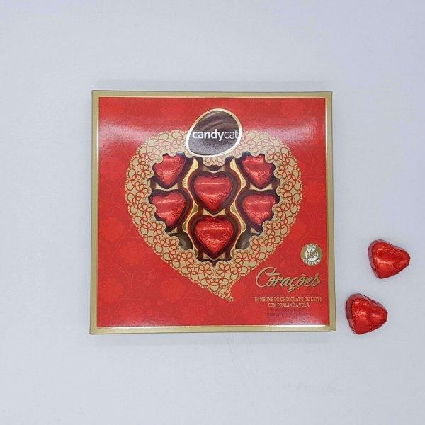 Chocolates Em Forma De Coração Candycat