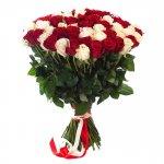 Rosas Vermelhas E Brancas Entrega Domicílio