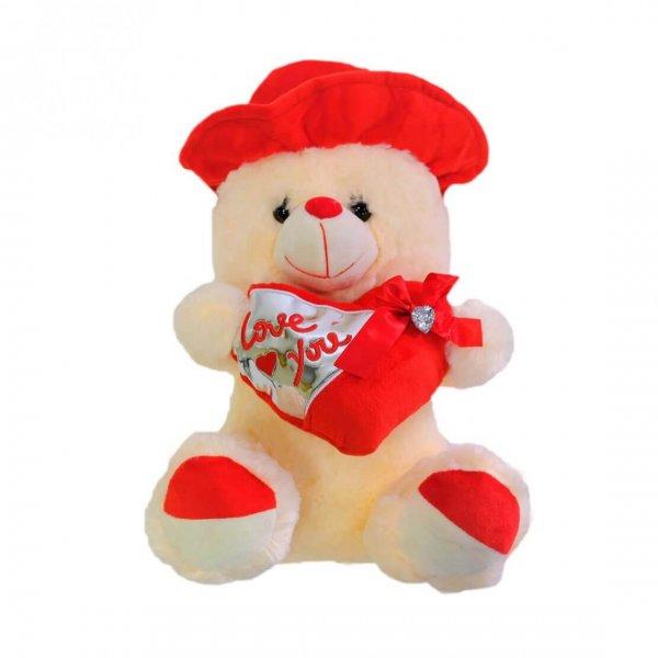 Urso Grande De Peluche Love You