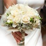 Bouquet De Noiva Lindo Entregue Igreja