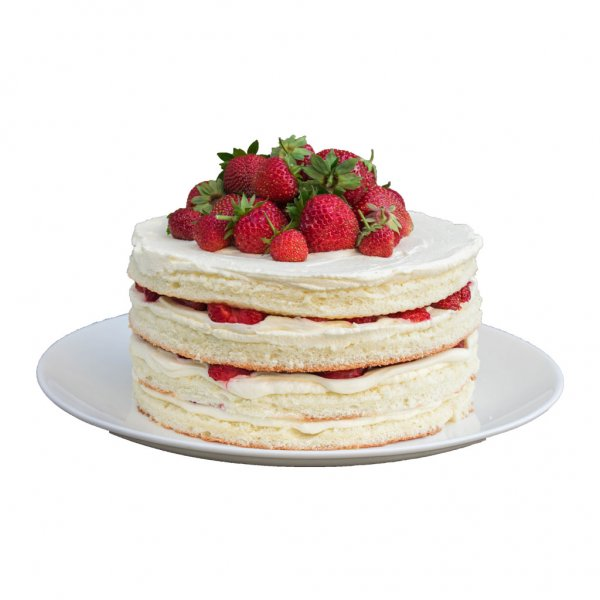 Naked Cake De Morangos