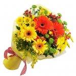 Bouquet Com Gerberas E Margaridas