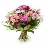 Bouquet Com Margaridas De Várias Cores