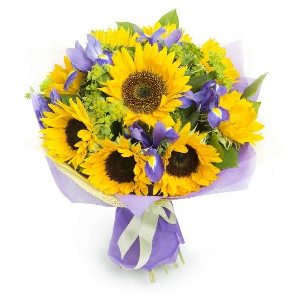 Bouquet De Girassóis E Lírios