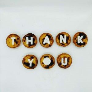 Mensagem De Agradecimento Thank You Em Pastéis De Nata