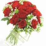Arranjo De Rosas Vermelhas Para Namorada