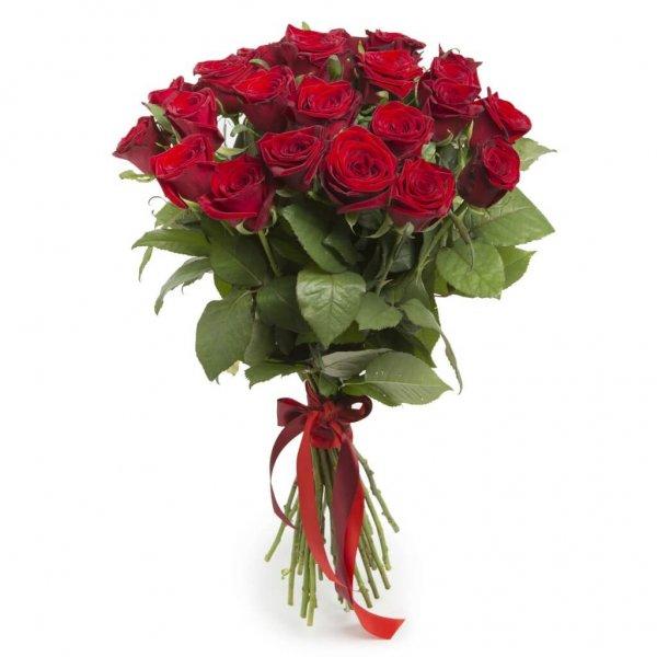 Ramo De 25 Rosas Vermelhas