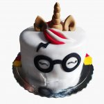 Bolo Unicornio Harry Potter