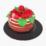 Naked Cake Com Flores No Topo