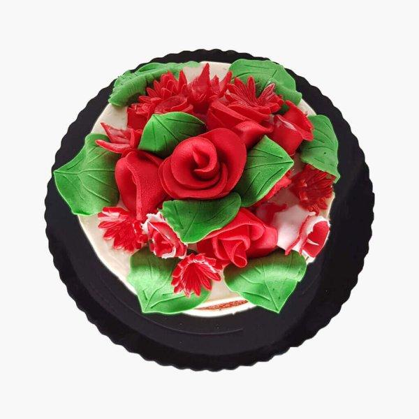 Naked Cake Com Flores No Topo Lisboa