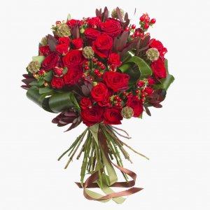 Bouquet Com Rosas Vermelhas