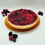 Cheesecake De Frutos Vermelhos Sem Gluten