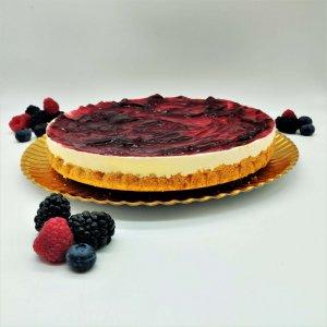 Cheesecake Frutos Vermelhos Sem Gluten Com 1,2kg