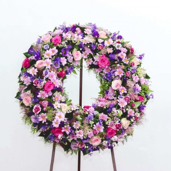 Coroa De Funeral Para Mulher