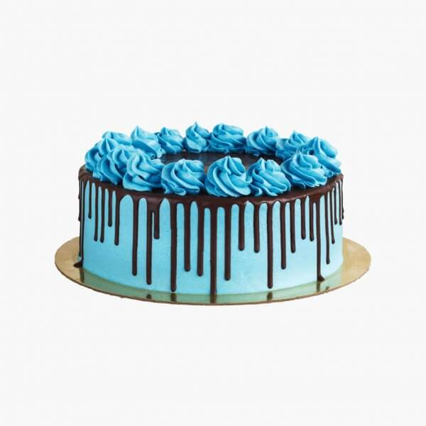 Drip Cake Azul