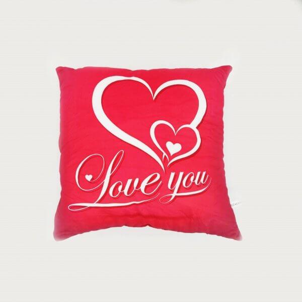 Almofada Grande Quadrada Love You