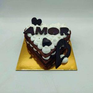 Bolo Chocolate Dia Dos Namorados