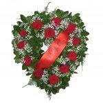 Coração De Flores Com Rosas Para Velório
