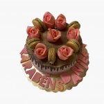 Drip Cake Com Flores