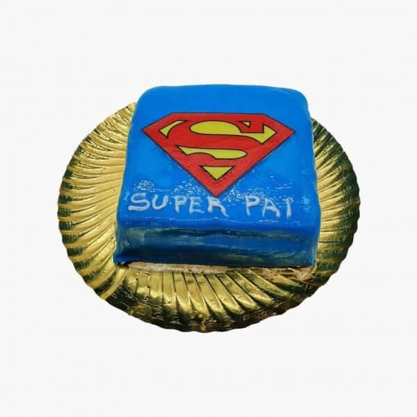 Super Homem Em Bolo