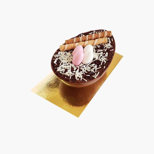 Ovo De Pascoa Com Chocolate