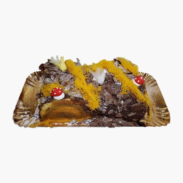 Tronco De Pascoa Chocolate E Fios De Ovos