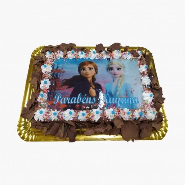 Bolo Elsa E Ana Frozen