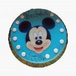 Bolo Azul Do Mickey