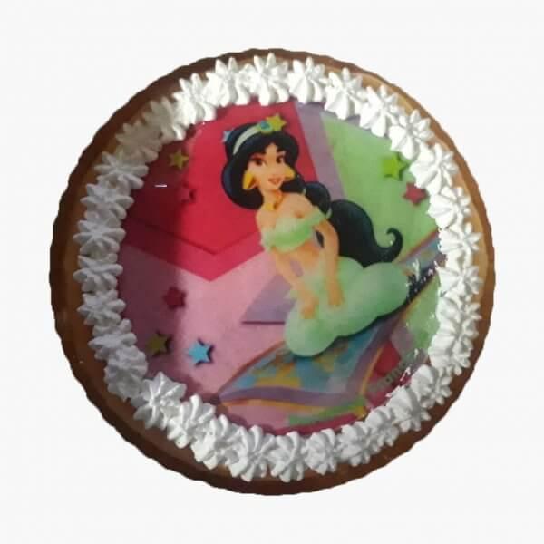 Bolo Com A Princesa Yasmin Do Aladin