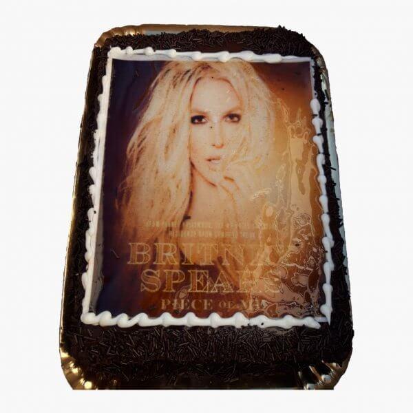 Bolo Com Fotografia Da Shakira