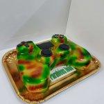 Comando Playstation Camuflado Verde