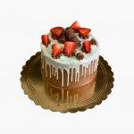 Drip Cake Com Morangos E Choc