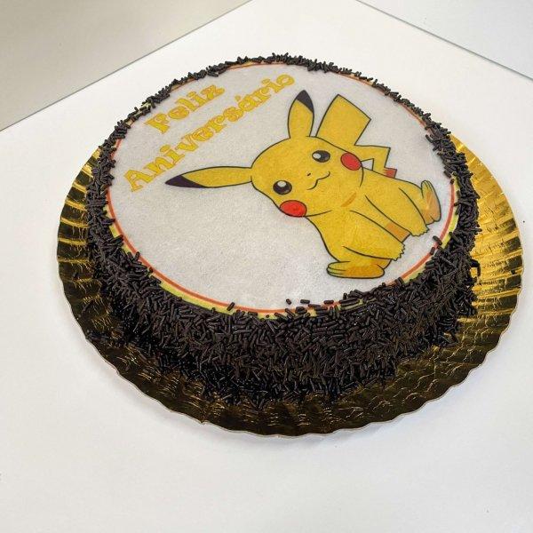 Bolo Pikachu Redondo