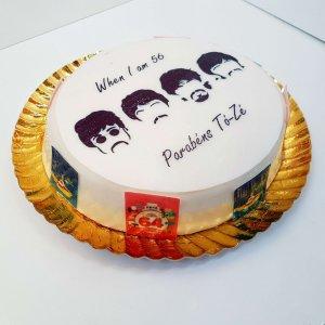 Bolo The Beatles Redondo