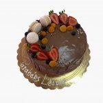 Drip Chocolate Com Morangos 2