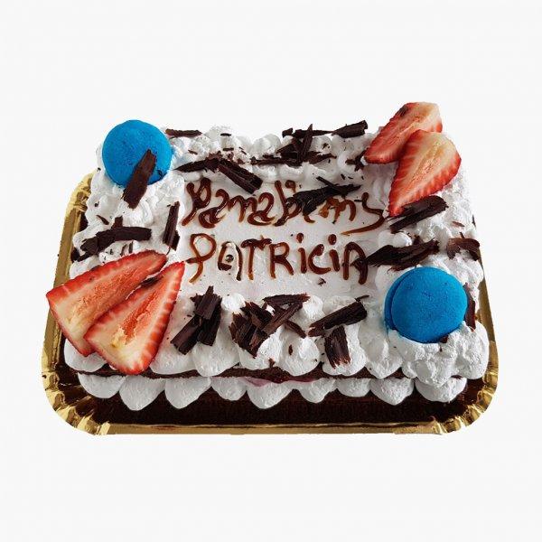 Naked Cake Com Morango Choc